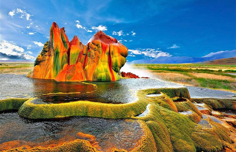 Les 20 endroits multicolores les plus époustouflants au monde