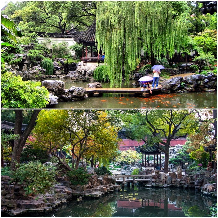 Le jardin Yuyuan à Shanghai en Chine.