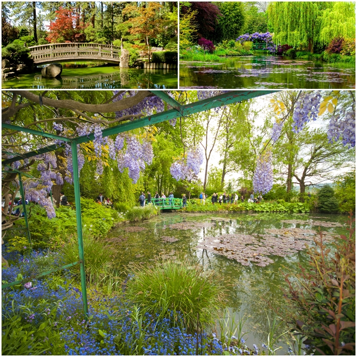À Giverny, en France, le jardin de Claude Monet.